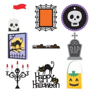 Some more examples of files available on Cricut's Creepy Critters image set