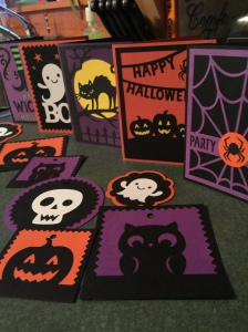 A few of the things you can make with the Creepy Critters cartridge