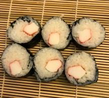 Simple Crab Sushi