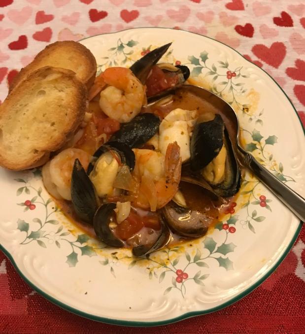 Cioppino: Italian Fish Stew