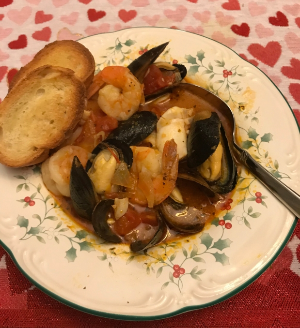 Cioppino: Italian Fish Stew
