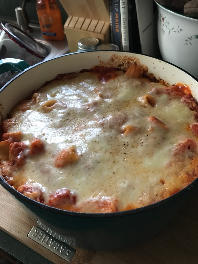 Completed Lazy Lasagna