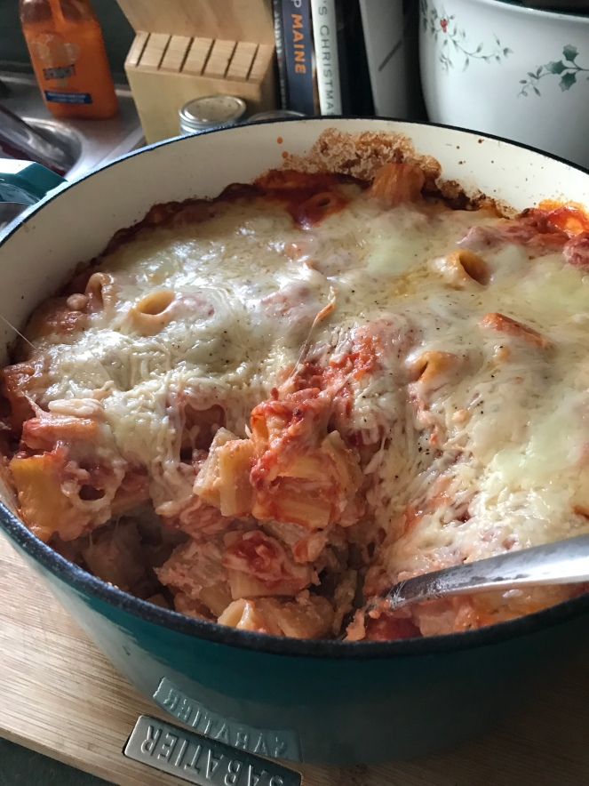 Digging In to the Lazy Lasagna