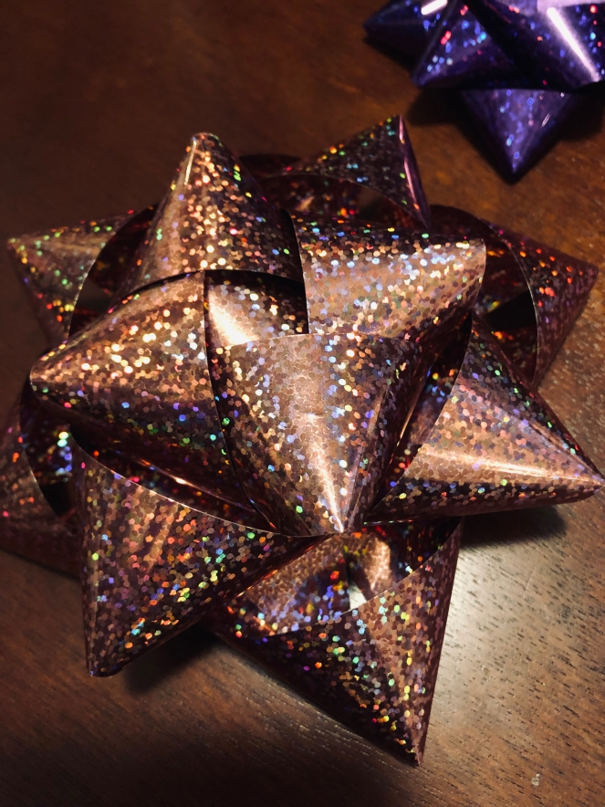 3D Bow made from Party Foil