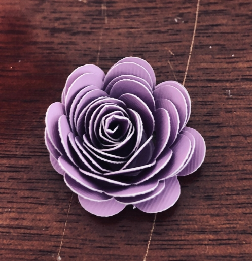 Completed Quilled Flower