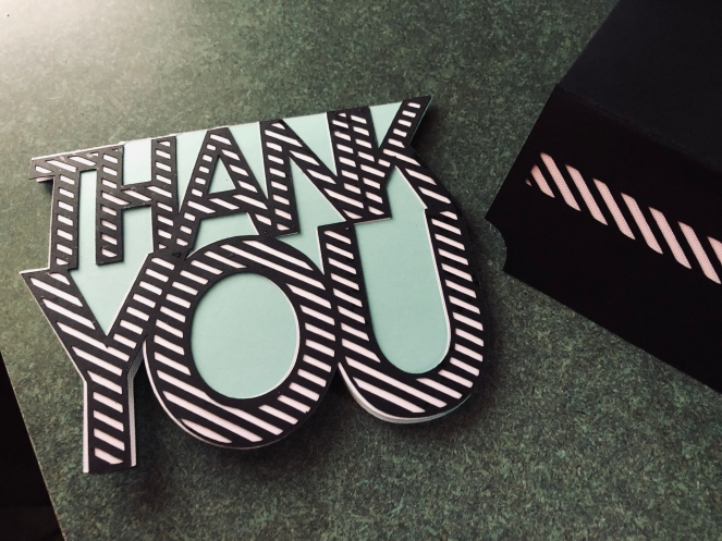 Thank You with Envelope