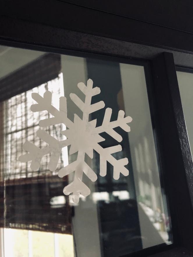 Window Cling Snowflake