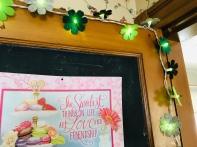 St. Patrick's Day Floral String Lights