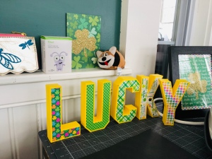 LUCKY 3D Letters