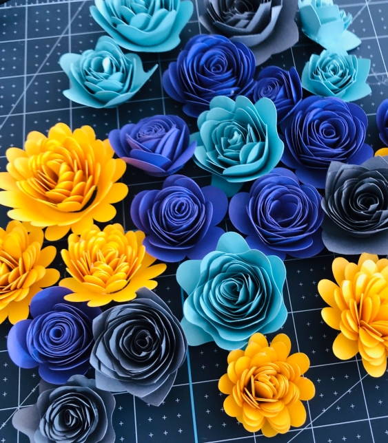 New YT Video: Making Quilled (Rolled) Paper Flowers With Your Cricut