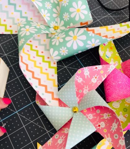 Paper Pinwheels!
