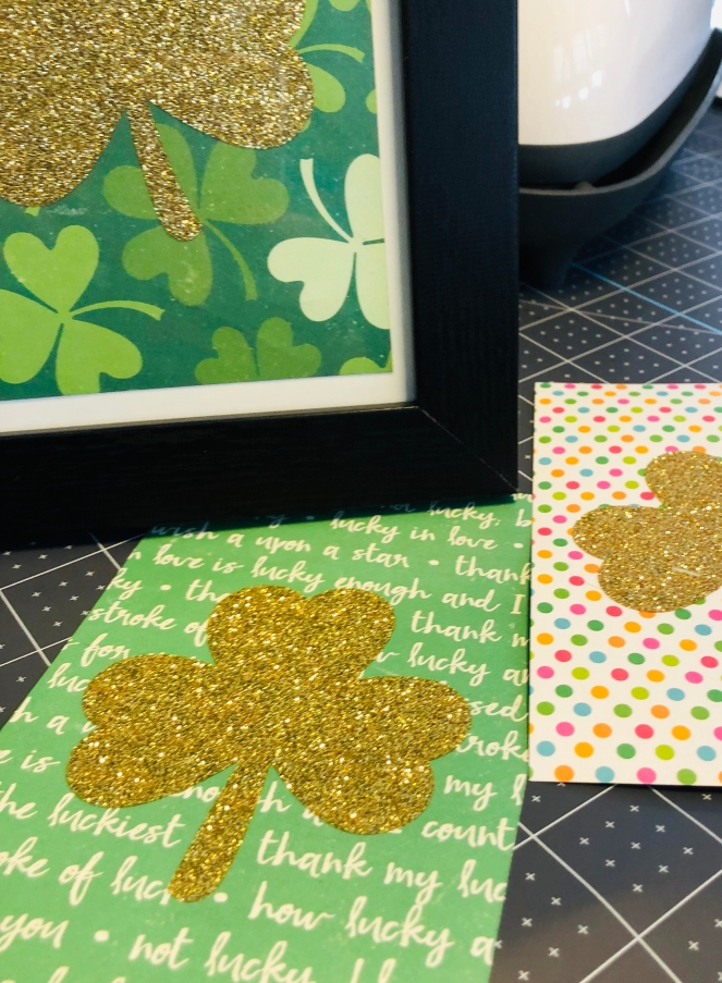 Shamrock on Cardstock