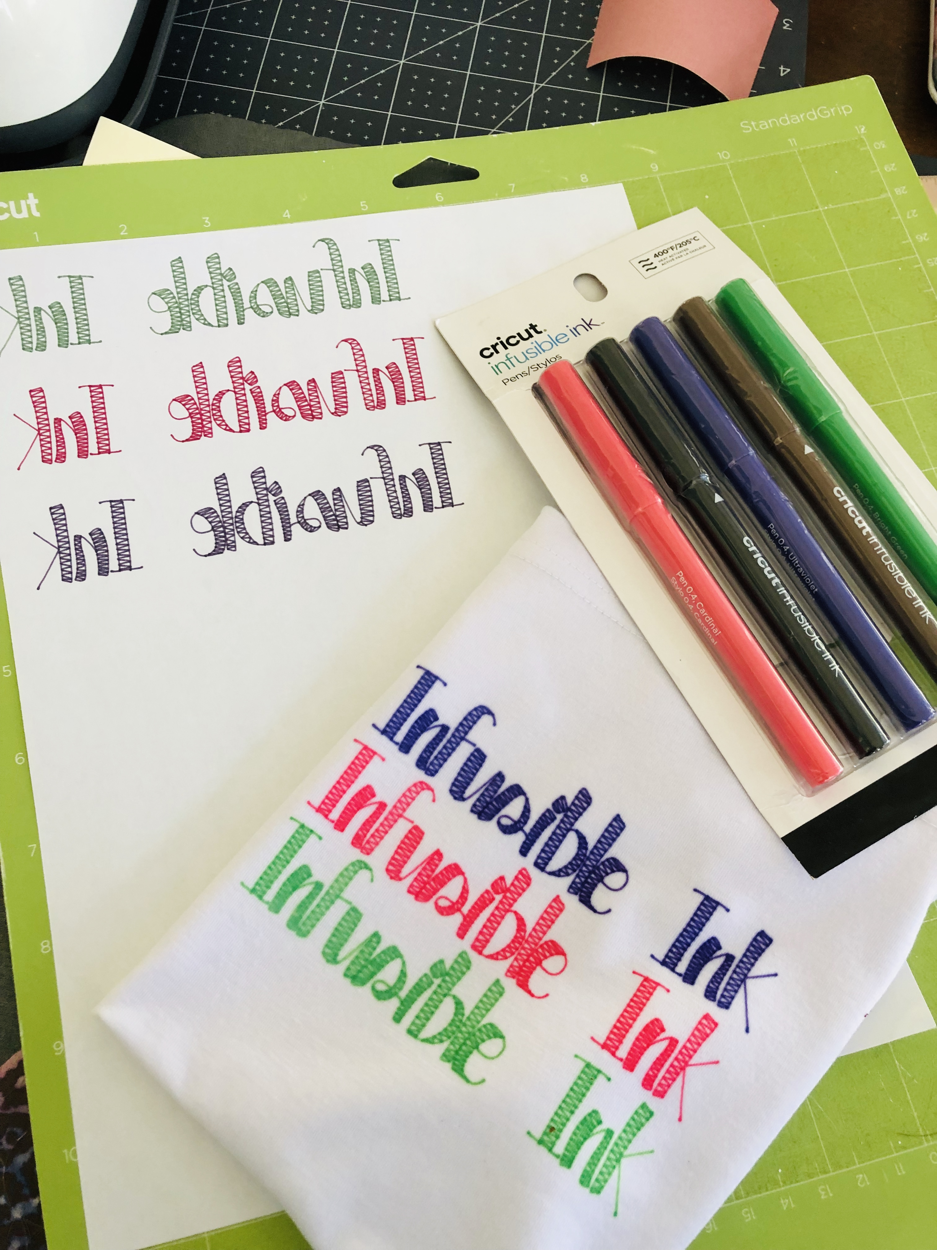 Cricut Infusible Ink Pens – Miss Rita to the Rescue!
